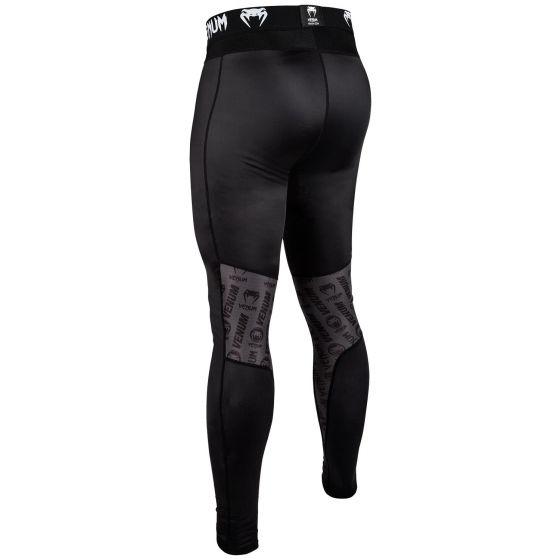 Pantalon de Compression Venum Logos - Noir/Blanc