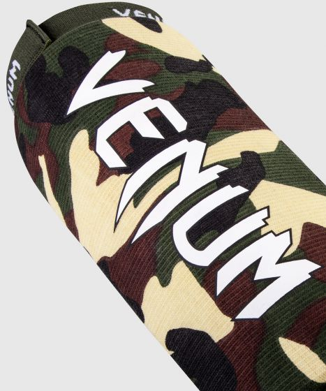 Venum Kontact Shin Guards - Forest Camo