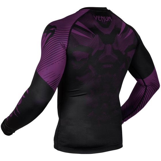 Venum NoGi 2.0 Rashguard - Long Sleeves - Black/Purple