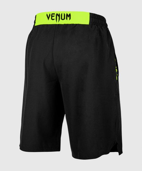 Short de sport Venum Classic - Noir/Jaune Fluo