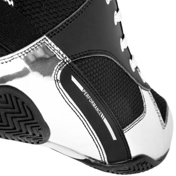 Elite Boxschuhe - Schwarz/Silber