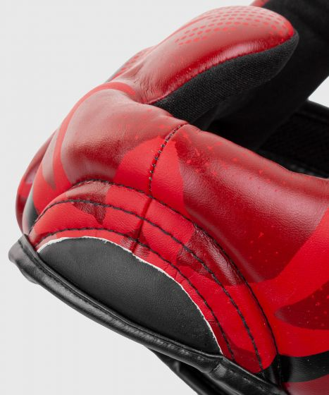 Casco de boxeo Venum Elite - Rojo Camo