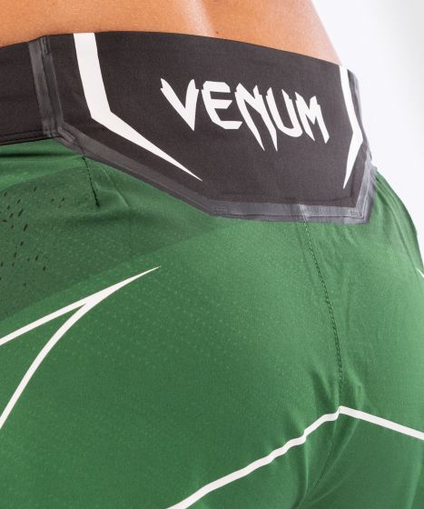 UFC Venum Authentic Fight Night Women's Shorts - Short Fit - Green