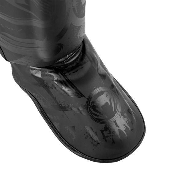 Protège-tibias Venum Gladiator 3.0 - Noir Mat
