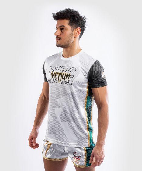 T-shirt Dry Tech Venum WBC Muay Thai - Blanc/Vert