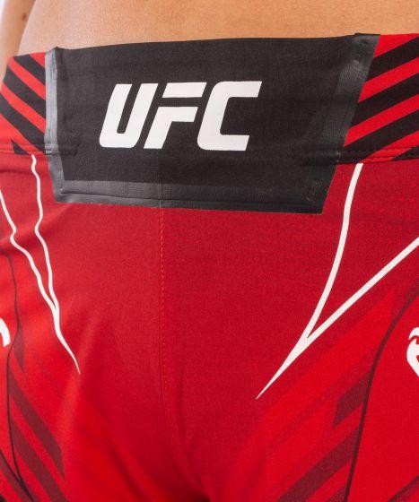 Fightshorts Donna UFC Venum Authentic Fight Night - Vestibilità Corta - Rosso