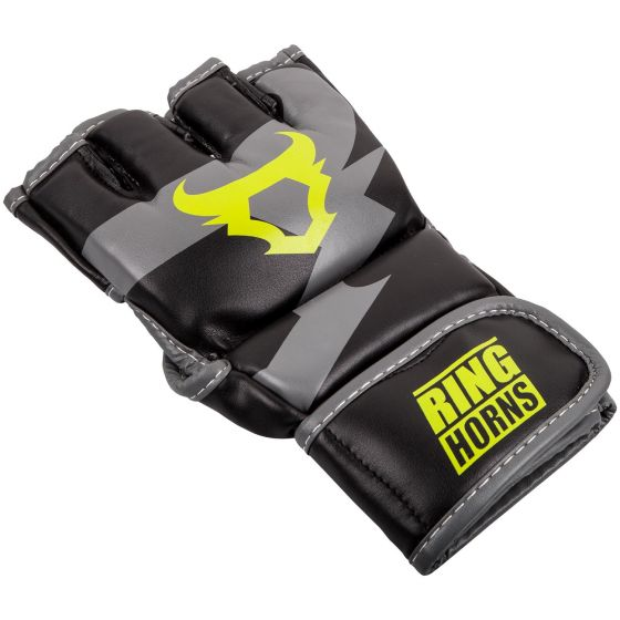 Ringhorns Charger MMA Gloves - Black/Neo Yellow