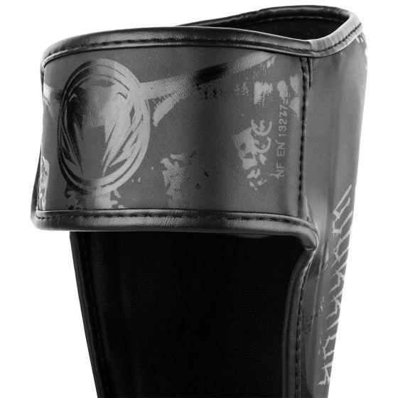 Venum Gladiator 3.0 Scheenbeschermers - mat zwart