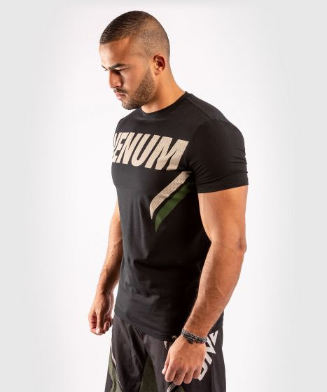 Camiseta ONE FC Impact - Negro/Caqui