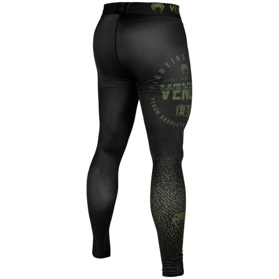 Venum Signature Compresssion Tights - Black/Khaki - Exclusive