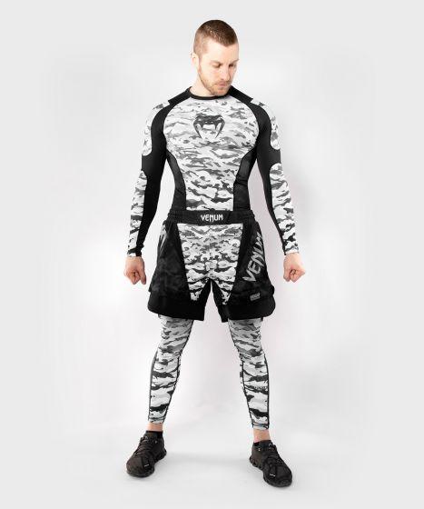 Venum Defender Rashguard - Long Sleeves  - Urban Camo