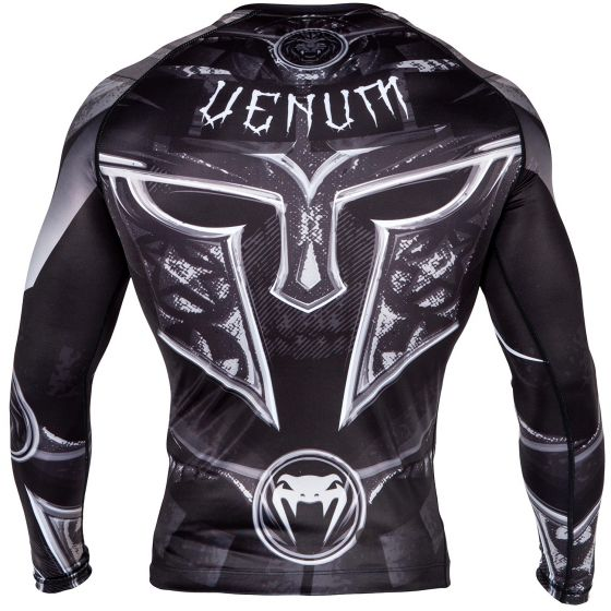 Venum Gladiator 3.0 Rashguard - lange mouwen - zwart/wit
