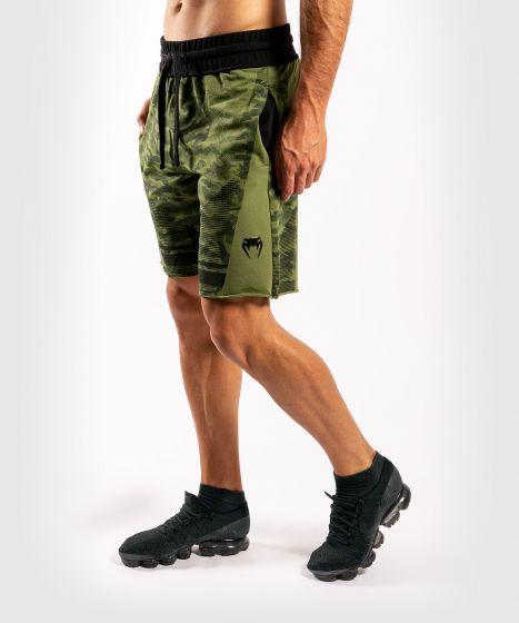 Katoenen short Venum Trooper - Boscamouflage/Zwart