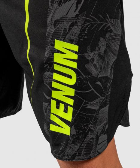 Short de bain Venum Aero 2.0 - Noir/Jaune Fluo