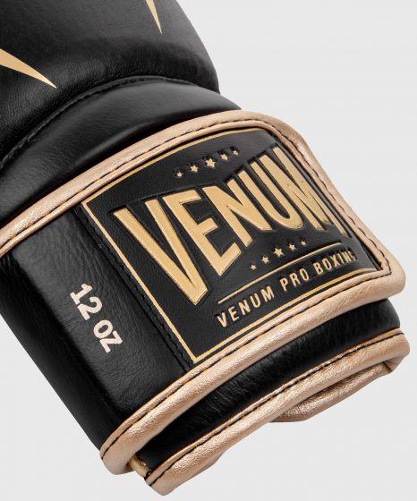 Venum Giant 2.0 Pro bokshandschoenen klittenband - Zwart/Goud