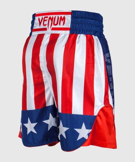 Venum Box-Shorts - Rot/Weiß-Blau
