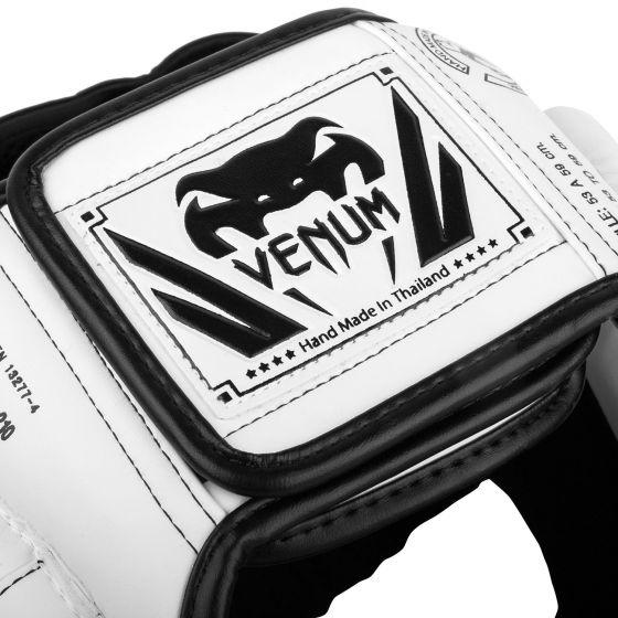 Venum Elite Kopfschutz - Weiß/Schwarz - Taille Unique