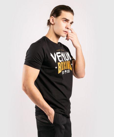 Camiseta Venum Boxing Classic 20 Negro / Dorado