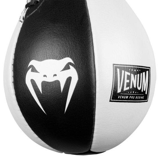 Boxbirne Venum Hurricane Speed Bag - Schwarz/Weiß