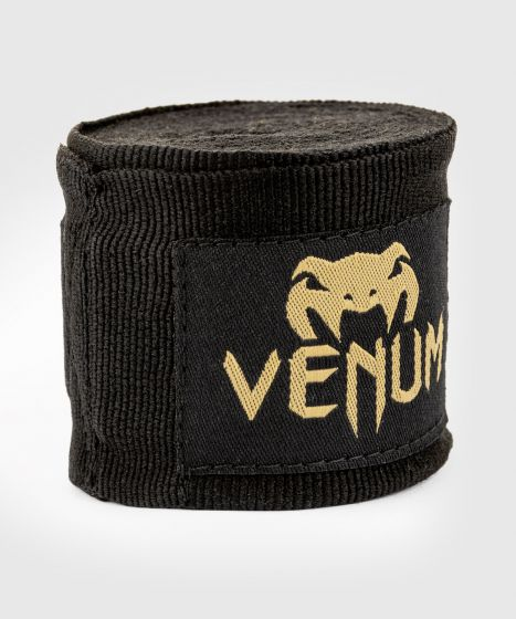 Bandages de boxe Venum Kontact - 2,5 mètres - Noir/Or