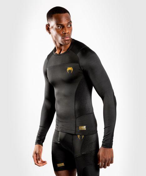 Venum G-Fit Rashguard - Long Sleeves - Black/Gold