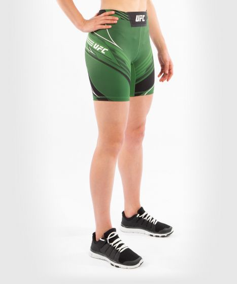 UFC Venum Authentic Fight Night Women's Vale Tudo Shorts - Long Fit - Green