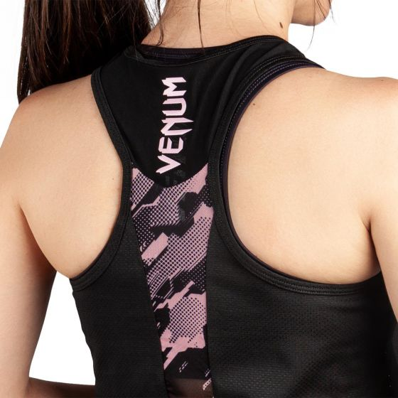 Venum Tecmo Tank Top - For Women - Black/Pink