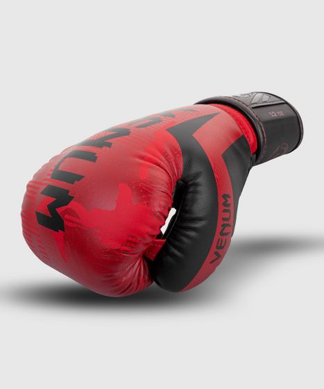 Venum Elite bokshandschoenen - Rode Camouflage