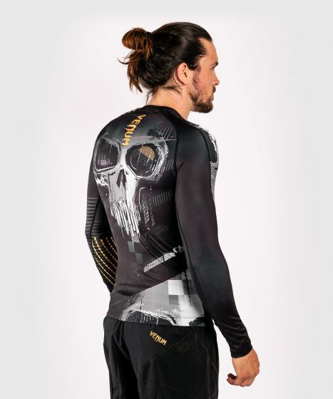 T-Shirt de compression Venum Skull - Manches longues - Noir