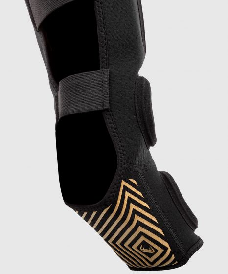 Venum Kontact Evo Shin Guards - Black/Gold