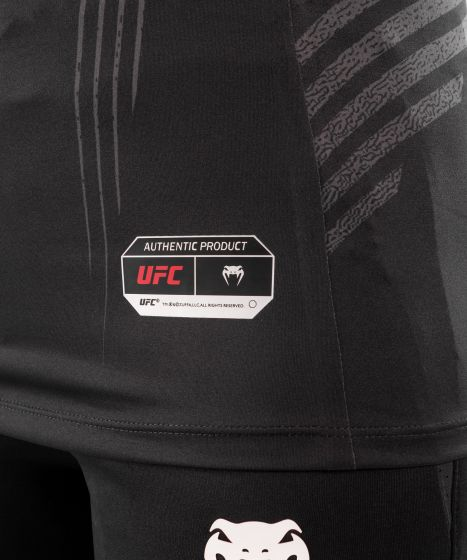 Maglia Tecnica Donna Personalizzata UFC Venum Authentic Fight Night - Nero