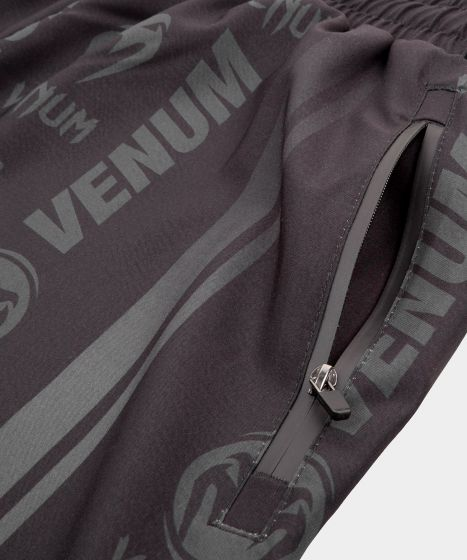 Venum Logos Training Shorts - Zwart/Zwart