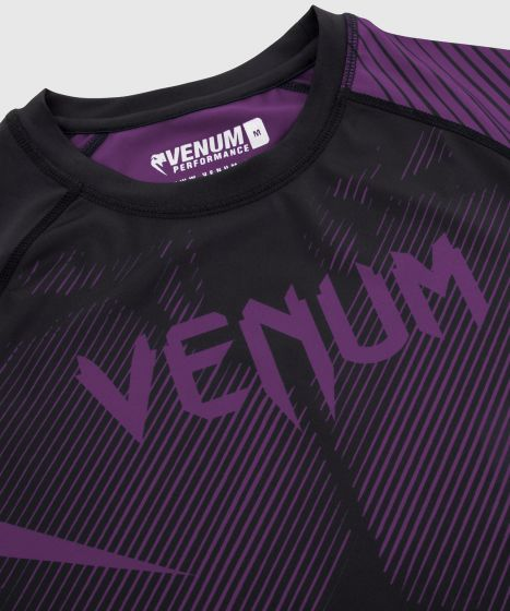 Venum NoGi 2.0 Rashguard - Long Sleeves - Black/Purple