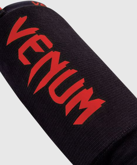 Venum Kontact Shin guards - Black/Red