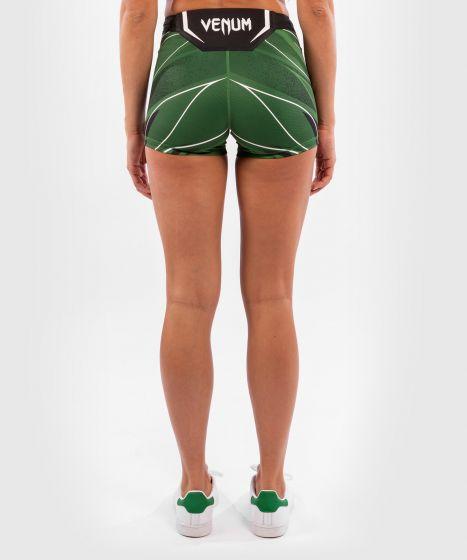 Pantaloncini da Vale Tudo Donna UFC Venum Authentic Fight Night - Vestibilità Corta - Verde