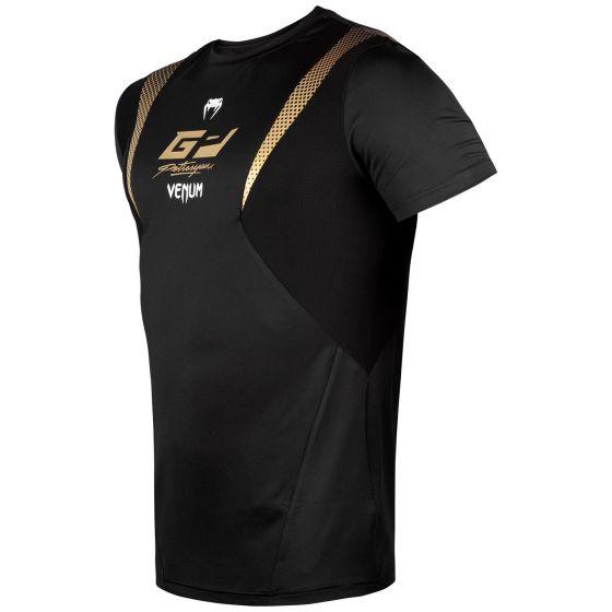 T-Shirt Dry Tech Venum Petrosyan - Schwarz/Gold