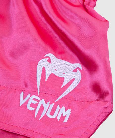 Short de Muay Thai Venum Classic - Rose/Blanc