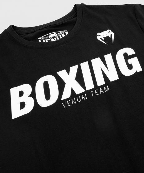 Venum Boxing VT T-Shirt - Schwarz/Weiß