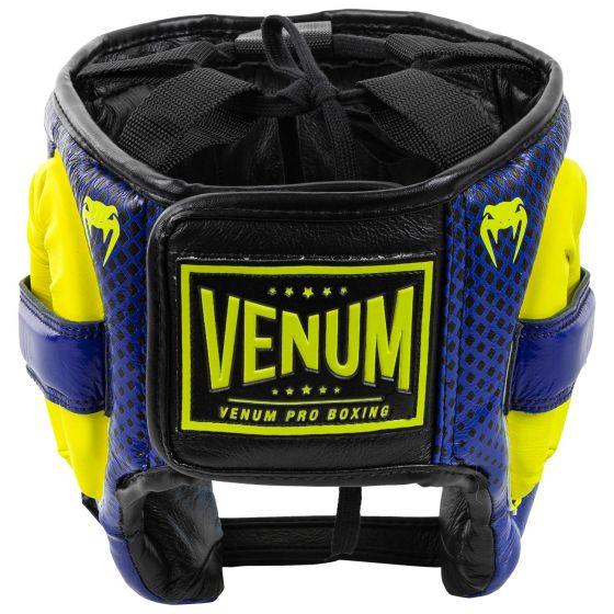 Caschetto da Pugilato Pro Loma Edition Venum - blu/giallo
