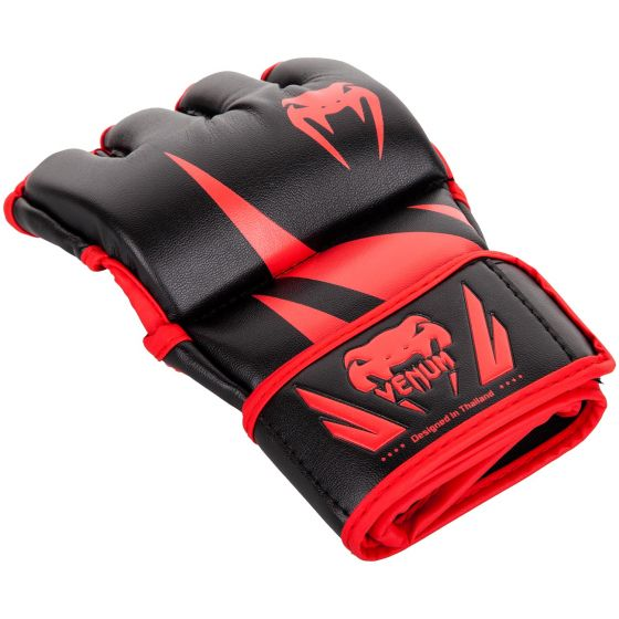 Venum Challenger MMA Gloves - Without Thumb - Black/Red