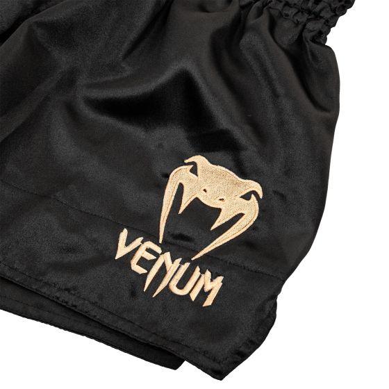 Venum Muay Thai Shorts Classic - Zwart/Goud