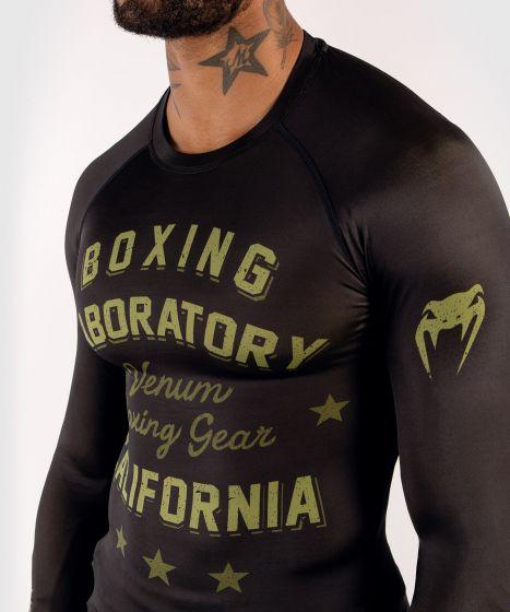 Rashguard Venum Boxing Lab - Nero/Verde