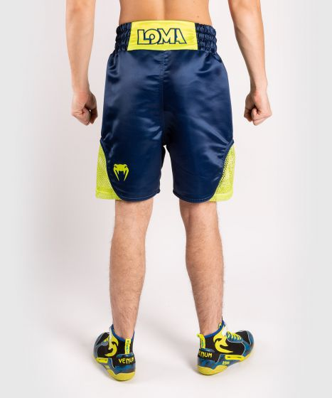 Venum Origins Boxing Short Loma Edition Blue/Yellow