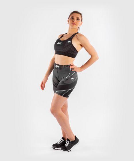 Pantaloncini da Vale Tudo Donna UFC Venum Authentic Fight Night - Vestibilità Lunga - Nero