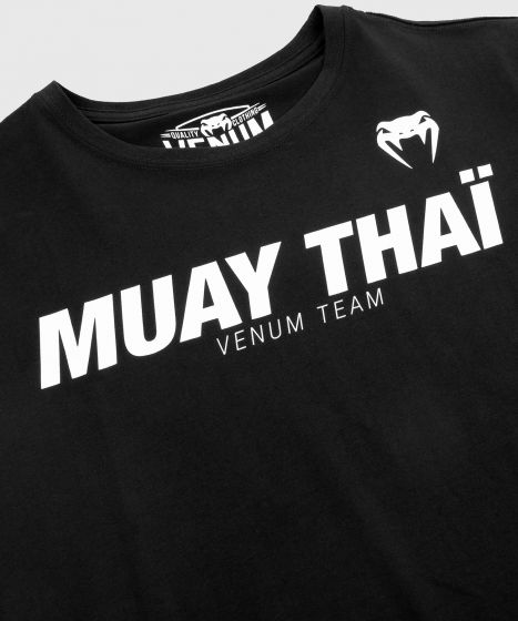 Venum Muay Thai VT T-shirt - Black/White