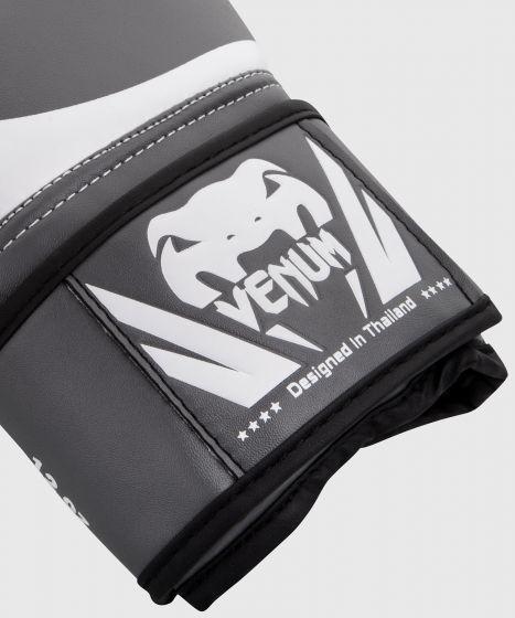 Gants de boxe Venum Challenger 2.0 - Gris/Blanc