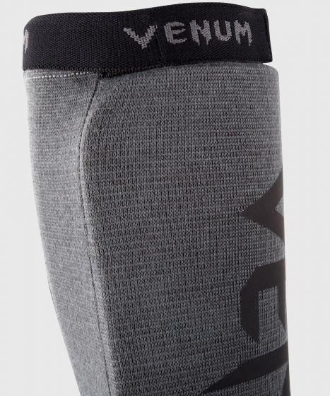 Venum Kontact Shin guards - Grey/Black