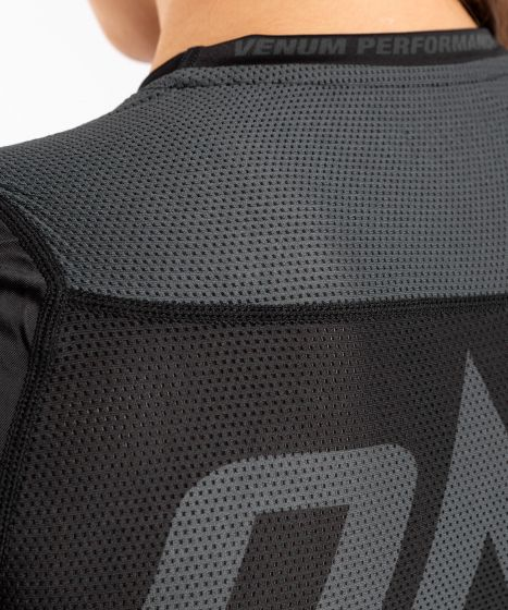 Venum ONE FC Impact Rashguard - short sleeves - for women - Black/Black
