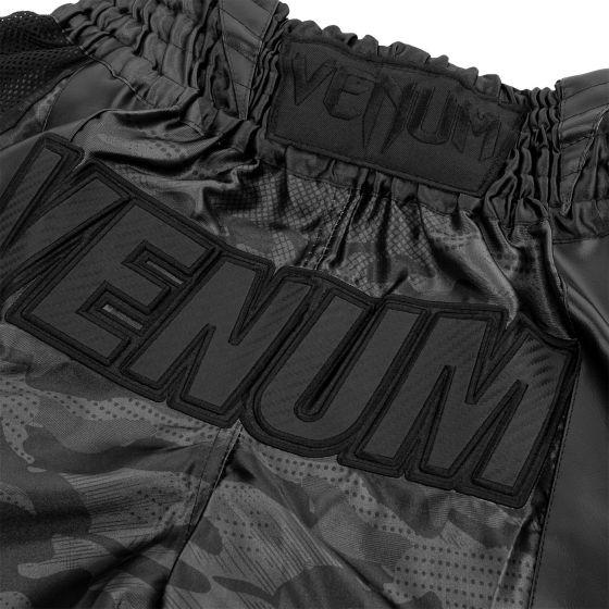 Short de Muay Thai Venum Devil - Noir/Noir