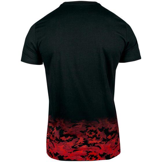 Venum Classic T-shirt - Zwart/Rood